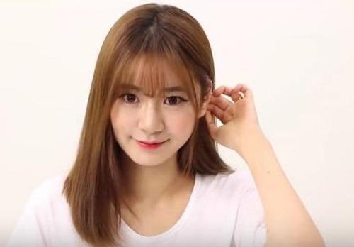 Tóc mái thưa Hàn Quốc mang đến vẻ đẹp nhẹ nhàng, tự nhiên cho các bạn gái