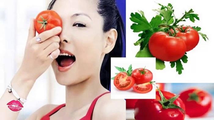 Cách chăm sóc da khô bằng mặt nạ cà chua đánh bay sự thô ráp