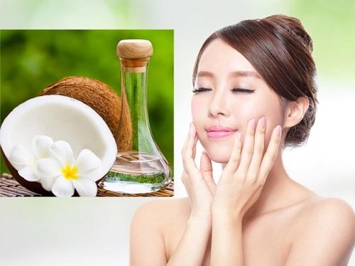 Cách chăm sóc da mặt bằng dầu dừa dưỡng ẩm da tự nhiên, đẹp mịn màng sạch mụn