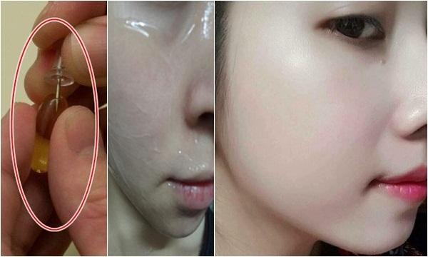 Làm sạch da mặt kèm hiệu quả dưỡng da tuyệt vời với vitamin E