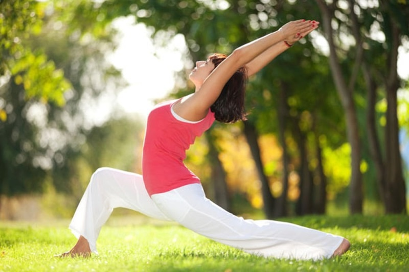 Tập thể dục tiết hóc môn thư giãn, giải tỏa tinh thần, da đẹp khỏe mạnh