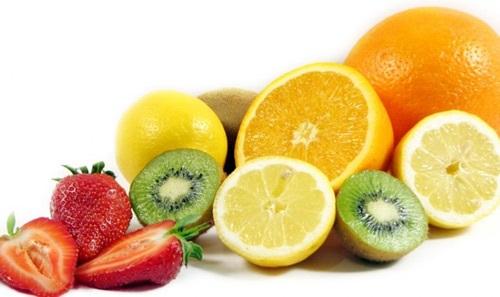 Chế độ ăn giàu vitamin C chăm sóc da sau khi lăn kim nhanh phục hồi