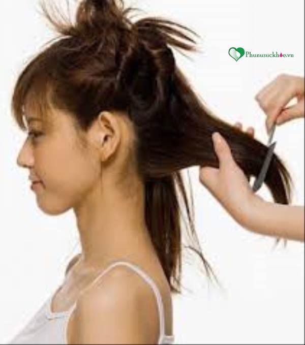 Chỉ bạn cách chia tóc để cắt cho nữ sao cho đẹp nhất - Ảnh 1