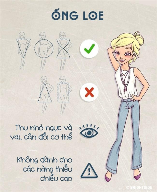 Biết được cách này thì dù bạn mập ốm cỡ nào vẫn chọn được kiểu quần jeans 'chuẩn không cần chỉnh' - Ảnh 9