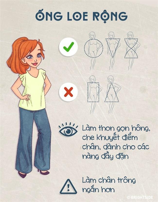 Biết được cách này thì dù bạn mập ốm cỡ nào vẫn chọn được kiểu quần jeans 'chuẩn không cần chỉnh' - Ảnh 10