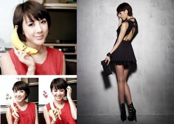 Ăn chuối vào bữa sáng giúp ca sĩ Seo In Young giảm cân cấp tốc