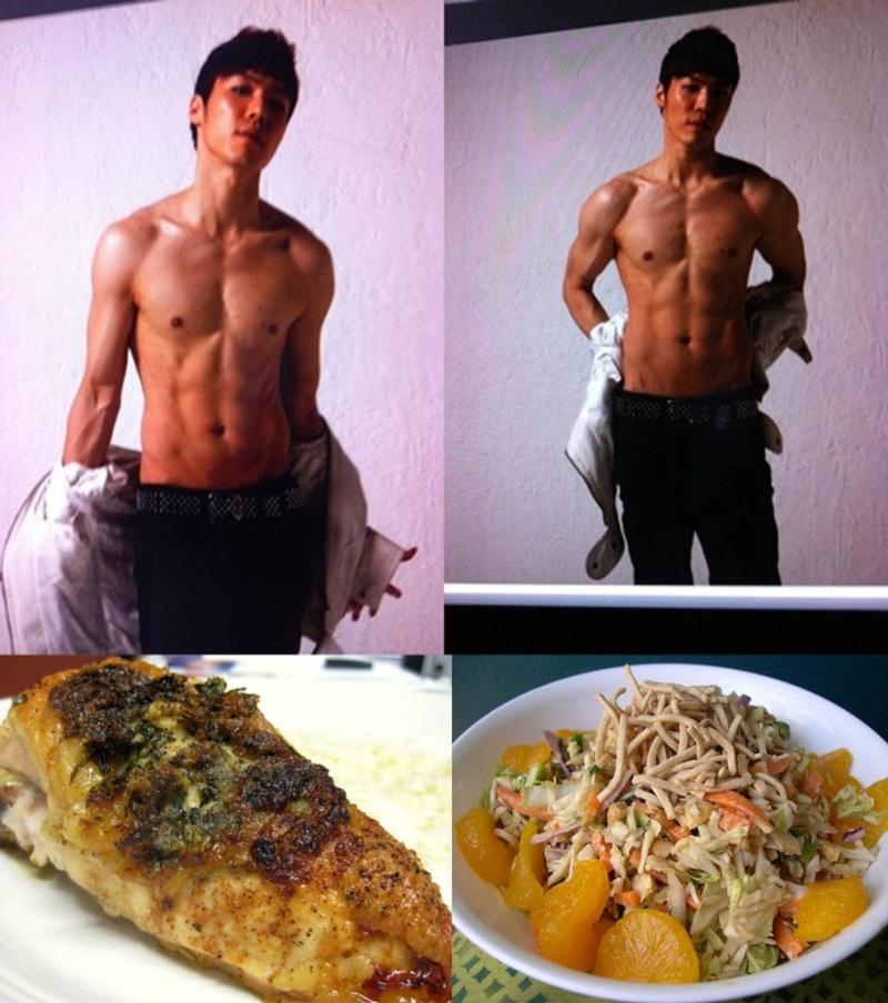 Chế độ giảm ăn Deadly Diet giúp ca sĩ Hàn Quốc Wheesung giảm cân hiệu quả trong thời gian ngắn