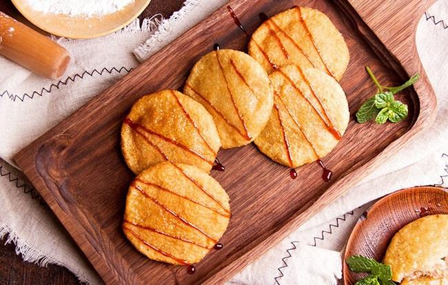 Cách làm bánh rán nhân thịt kiểu mới ăn một lần là mê - Ảnh 5
