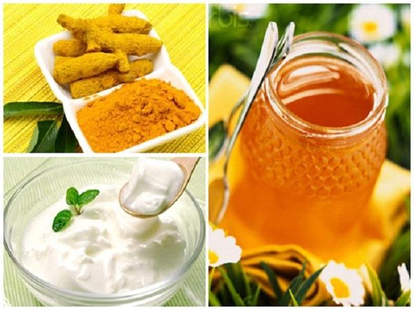Cách làm đẹp sau sinh bằng nghệ và sữa chua và mật ong – giải pháp cứu sinh cho làn da.