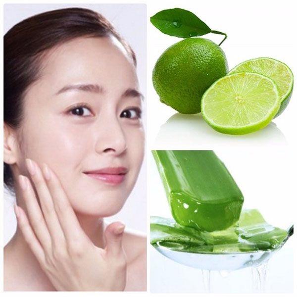 Cách làm đẹp từ nha đam tươi và cốt nước chanh giúp tái tạo làn da hiệu quả