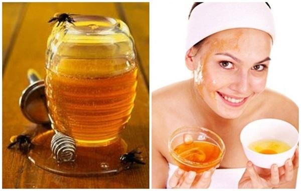 Mật ong rất giàu kali, giúp loại bỏ các nốt tàn nhang trên da hiệu quả - Ảnh: Internet