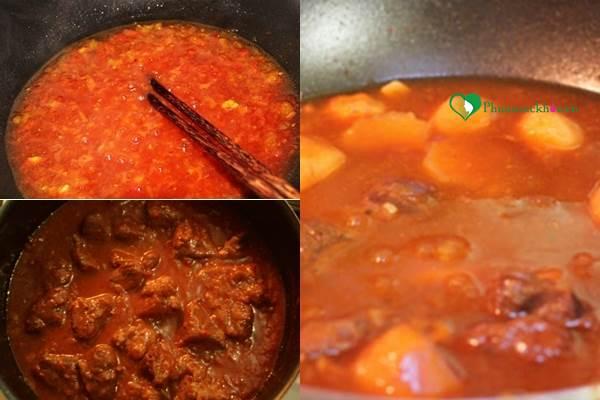 Khám phá cách làm món bò sốt vang hấp dẫn thơm ngon - Ảnh 2