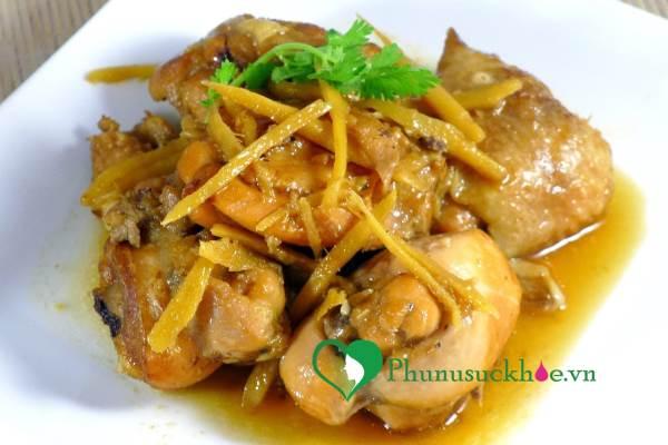 Cách làm món gà kho gừng ngon cơm cho ngày sang thu - Ảnh 1