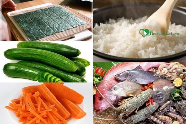 Cách làm món sushi hương vị Nhật Bản đơn giản ngay tại nhà - Ảnh 1