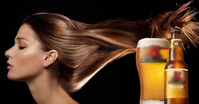 Bia - Cách làm phục hồi tóc hư tổn tuyệt vời.