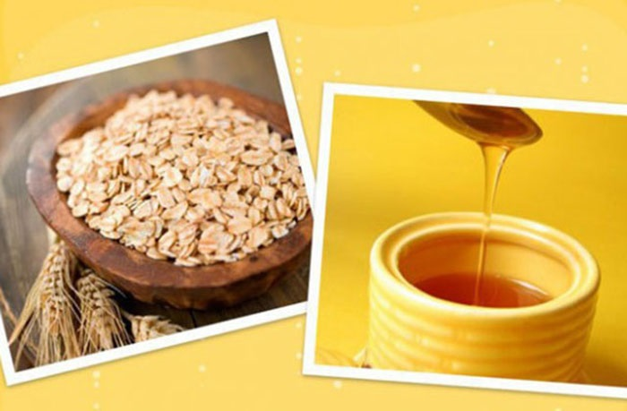 Cách làm trắng da mặt bằng mật ong và bột yến mạch