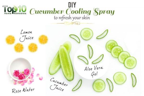 Tự làm xịt khoáng để dưỡng da ẩm mượt và trắng hồng suốt cả mùa hè