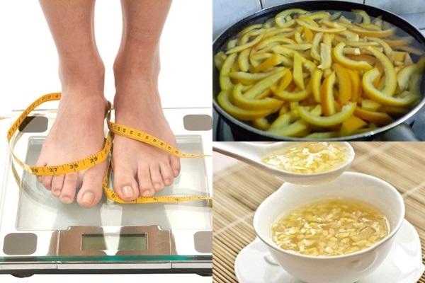 Nấu chè vỏ bưởi ăn mỗi ngày hỗ trợ giảm cân tốt nhất