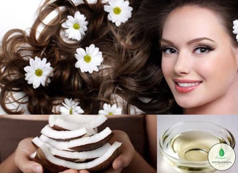 Ủ tóc bằng dầu dừa - Cách phục hồi tóc hư tổn nặng nhanh nhất