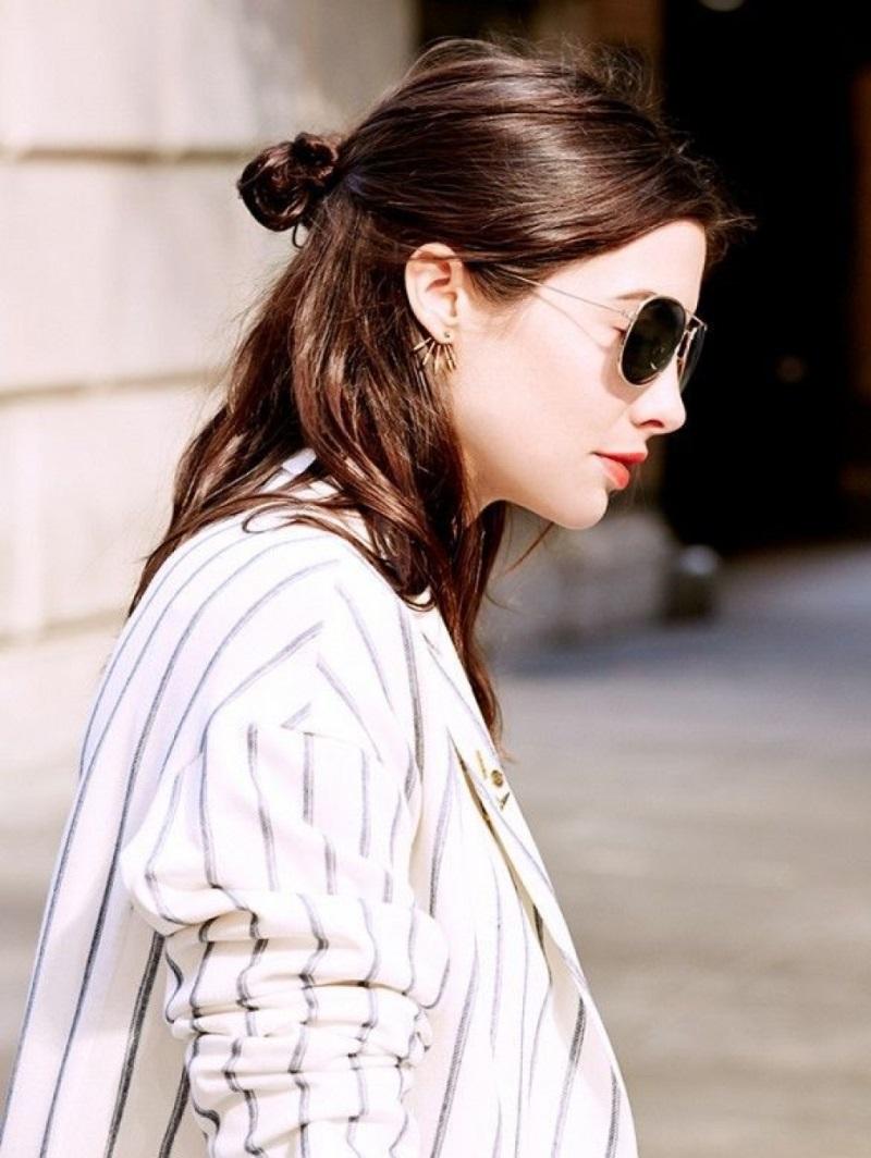Không cần chạy theo mốt tóc ngắn, 6 kiểu tóc dài này vẫn giúp bạn gái cá tính, xinh đẹp 'hết phần thiên hạ' - Ảnh 3
