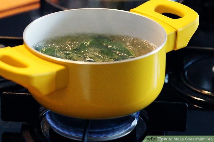 Cách tẩy ria mép ở con gái bằng trà bạc hà