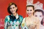 Hoàng Yến tới chúc mừng Nữ hoàng sắc đẹp Ngọc Duyên