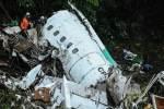 Vụ máy bay chở đội bóng Chapecoense rơi ở Colombia là
