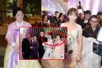 Hariwon rạng rỡ xuất hiện trong váy cưới 10.000 usd, mẹ cô  phản ứng gây choáng?