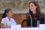 Các con Jolie bảnh bao trong lễ ra mắt phim ở Campuchia