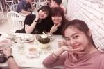 Linh Chi vui vẻ tụ tập bạn bè, bỏ qua chỉ trích giật chồng