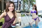 Người đẹp nói dối Helen Thanh Đào bị đồn mang bầu với đàn ông có vợ