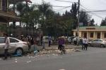 Truy tìm ô tô hất văng nữ công nhân vệ sinh môi trường trên phố