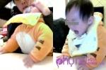 Xót lòng cảnh đứa trẻ 1 tuổi bị bảo mẫu thẳng tay tát, bóp mũi suýt mất mạng
