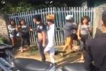 Hà Nội: 6 nam thanh niên cầm hung khí hành hung 1 thiếu nữ