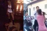 Bị bắt gặp ngoại tình, chồng để 'bồ nhí' rượt đánh, lột đồ vợ trên phố