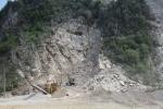 Tai nạn mỏ đá, một công nhân chết thảm