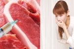 Tác hại kinh hoàng khi ăn thịt heo tiêm thuốc an thần