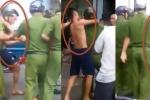Xác định danh tính nhóm thanh niên kẹp đầu, đánh công an ở Hà Giang