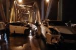 Tai nạn kinh hoàng, 3 người tử vong trên cầu Chương Dương