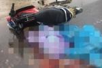 Xe máy va chạm xe container, hai vợ chồng tử vong tại chỗ