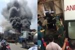 Cháy lớn sau tiếng nổ tại xưởng bánh kẹo, 8 người thiệt mạng