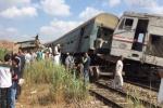 Tàu hỏa đâm nhau ở Ai Cập, 28 người chết