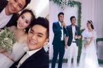 Sau lễ cưới thứ 3, Lê Phương đăng ảnh tình đầu Quý Bình - tình cuối Trung Kiên đứng cạnh nhau với caption khiến nhiều người choáng