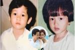 Loạt ảnh thuở bé cực dễ thương của Hoa hậu Thu Thảo và chồng sắp cưới