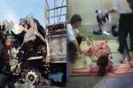 Tai nạn giao thông liên hoàn tại Khánh Hòa: Chồng giết vợ rồi tông vào đầu xe container tự tử