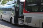 Xe chở 28 khách Việt gặp tai nạn tại Đài Loan