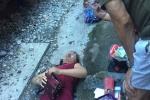 Một phụ nữ bị tàu hoả tông trọng thương trên đường Lê Duẩn