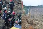 Sạt lở đất vùi lấp 18 người ở Hòa Bình: Rơi nước mắt khi đội cứu hộ tìm thấy thi thể mẹ ôm con trai 3 tháng tuổi