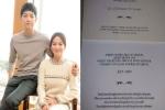 Song Joong Ki - Song Hye Kyo khiến khách mời hoang mang khi không cho mang thứ này vào tiệc cưới