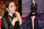 Lý Nhã Kỳ diện trang phục xuyên thấu đẹp áp đảo dàn thí sinh Hoa hậu Hòa bình Quốc tế 2017